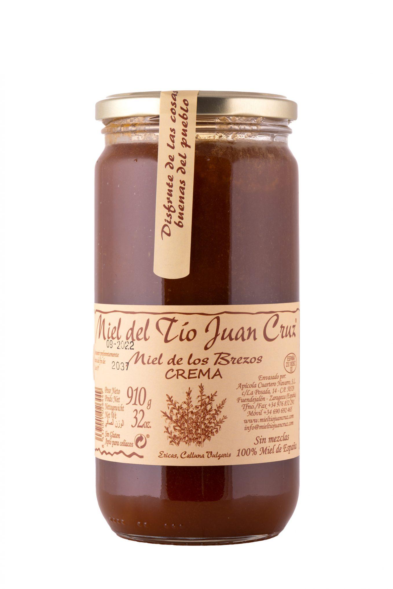Miel de brezos en crema