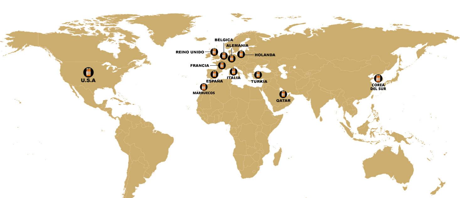 Mapa paises_Miel