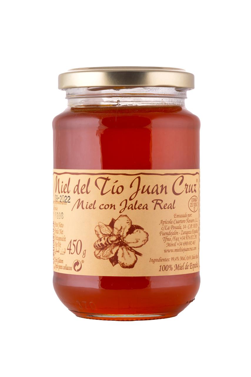 miel con jalea real 450
